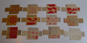 1910and039s Cracker Jackand039s E154 Puzzles And Tricks Almost Set Of 36/40 With Enveloppe