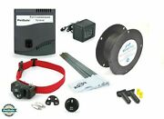Petsafe In Ground Dog Fence Kit 500and039 16 Gauge Wire Zig00-14654 1-4 Dogs 8-30 Lbs