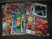 1970s-2000s Assorted Car Magazine Lot Of 50 - Great Covers And Photos - Pb 50q