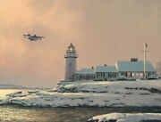 William Phillips Afternoon Departure Stoney Point Light Limited Edition Canvas