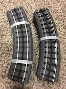 Mth Realtrax 0-31 Solid Rail Curve Lot Of 8 Track O-scale