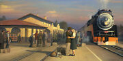 William Phillips Iandacutell Hold You In My Dreams Limited Edition Canvas Steam Train