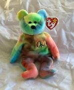 Vintage 1996 Ty Beanie Baby Peace Plush Toy Collectible With Tag Mint Condition