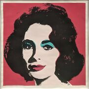Andy Warhol Ii.7 Liz 1967 | Rare Hand Signed Print | Others Available | Gallart