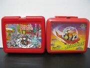 Pee-weeand039s Playhouse And Jetsons The Movie Plastic Lunchboxes