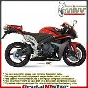 Mivv Approved Exhaust Mufflers X-cone Plus Steel Honda Cbr 600 Rr 2007 07