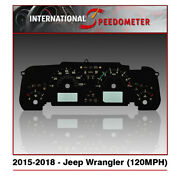 Speedometer Faceplates Fits A 2015 To 2018 Jeep Wrangler X50pcs./120mph