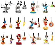 Complete Set Of 12 Disney Mickey Through The Years Sketchbook Ornament Sets
