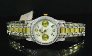 Jlo Jennifer Lopez Collection Jl/2399mptt Crystal Accented Mop Dial Watch 150