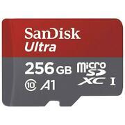 Sandisk Ultra 256gb Microsd Sdxc Memory Card High Speed Class 10 For Cell Phones