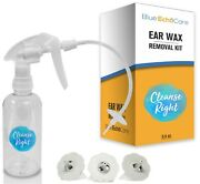 Cleanse Right Ear Wax Removal Kit- Usa Made, Dishwasher Friendly Tips