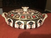 Royal Crown Derby Old Imari 1128 Covered Casserole