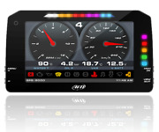 Aim Mxp Dash Data Logger Gps Roof Version With 4m Cable Mxp Harness 22 Pin