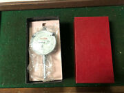 Machinist Mill Lathe Peacock Dial Indicator Gage In Box Rndkcb