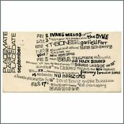 David Bowie And The Buzz 1966 The Place Hanley Promotional Flyer Uk