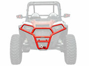 Satv Front Brush Guard Bumper For Polaris Rzr S 1000 / S4 1000 2016-2020 - Red
