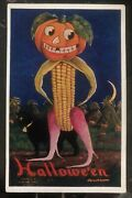 1910 East Brady Pa Usa Picture Postcard Ppc Cover Halloween Costume