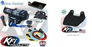 Kfi 3000 Lb Steel Cable Winch And Mount Kit Yamaha Grizzly 660 2002-2008