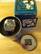 New Popeye 75th Anniversary Watch In Tin, With Original Box And Certificate.