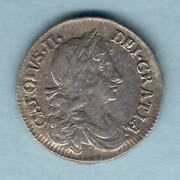 Great Britain. 1679 - Charles 11 Fourpence.. Much Lustre.. Aef/ef