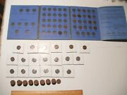 Pennies Collection- 17 Indian Head, 13 Steel, And 83 Wheatbacks