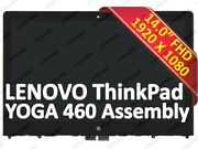 Fhd Lcd Display Touch Screen Assemy For Lenovo Thinkpad Yoga 460 01aw135 01aw136