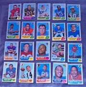 20 Topps 1968 Asst Teams And Players Nfl Football Trading Cards Dawson Taylor Farr
