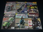 2000s American Cycle Motorcycle Magazines Lot Of 8 - Great Covers - P 1637