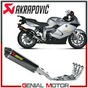 Full System Exhaust Carbon Akrapovic Racing Bmw K 1300 S 2009 2016