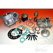 Athena 170cc Cylinder Kit And Cylinder Head P400485100010 Dt 125re 2004-2006