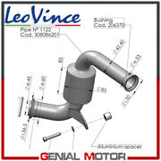 Link Pipe For Remove Catalyst Leovince For Ktm Rc 390 2017 2019