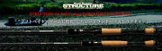 Nories Road Runner Structure St640m-ft Light Rubber Jig And Wacky Casting Rod