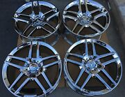 19 Nw Chrome S550 S600 S500 S65 S Cl Mercedes Amg Oem Factory Wheels Tires Rims