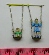 Lionel Part Swinging Boy And Girl Figure