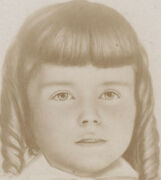 Cab Card Photo Cute Girl From Sharpsburg, Pa, By Kinte Bros, Graphic Back