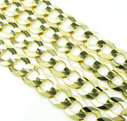 30 41 Grams 8.5mm 10k Yellow Gold Miami Cuban Curb Chain Thick Necklace Mens