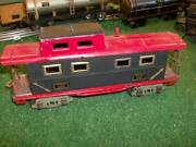 American Flyer Pre War O Gauge 3211 Tin Plate Caboose Early 30s Vg Repaint