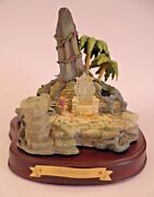 Wdcc Enchanted Places King Louie's Temple From The Jungle Book Deed Klaa 467