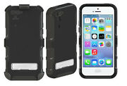 Oem Seidio Convert Rugged Combo Case Holster For Apple Iphone 5c W/kickstand Blk