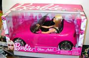 8778 Nrfb Mattel Barbie Glam Auto Car And Doll Giftset