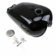 1 Xmotorcycle Fuel Tank With Keys 9l/2.4gal Fit For Suzuki Gn125