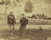 Federal 22nd New York Soldiers Knives Harpers Ferry New 8x10 Us Civil War Photo