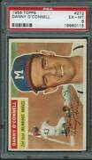 1956 Topps 272 Danny O'connell Psa 6