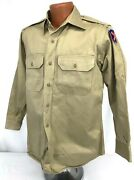 Vintage Us Army Xii Corps Long Sleeve Shirt
