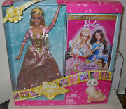 7355 Nrfb Mattel Barbie Princess And The Pauper Doll And Dvd Video Set