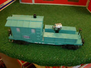Lionel Trains No. 19714 New York Central Searchlight Caboose 1 Of 2 Very Nice