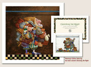 James Christensen Hold To The Rod The Iron Rod W/hand-colored Remarque Ap50/50