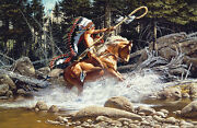 Frank Mccarthy The Challenge Giclee Canvas 76/77