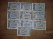 Ussr 1950 State Loan Bond 100 Rubles. 10 Pieces In One Set. Wholesale Lot