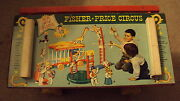 Vintage Fisher Price Big Circus Great Graphics 900 Performing Almost Complete